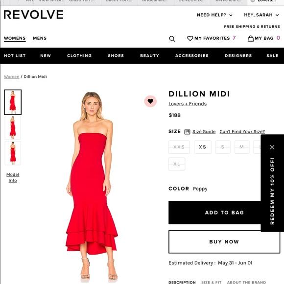 5574e6909a Lovers + Friends Dresses   Skirts - LOVERS + FRIENDS Dillion midi dress